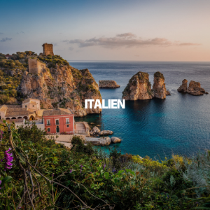 Link zur mehr Infos für einen Urlaub in Italien