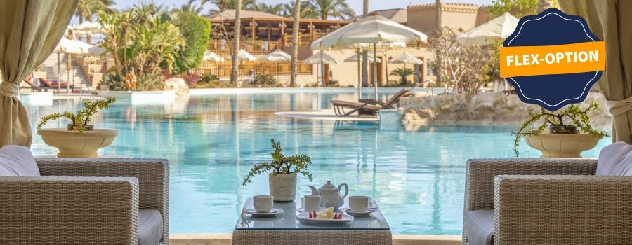 Flex-Option bei Ägypten Urlaub buchen