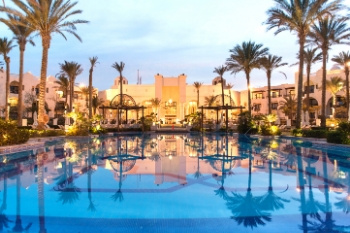 Das elegante Red Sea Hotel The Palace Port Ghalib
