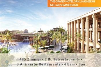 Das 5-Sterne The Grand Hotel Sahl Hasheesh