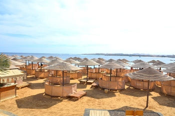Strand der Red Sea Hotels in Hurghada am Roten Meer