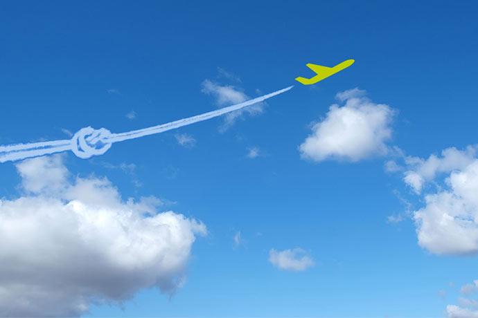 Atmosfair und Flugzeuge