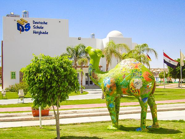 Außenansicht der Deutsche Schule Hurghada