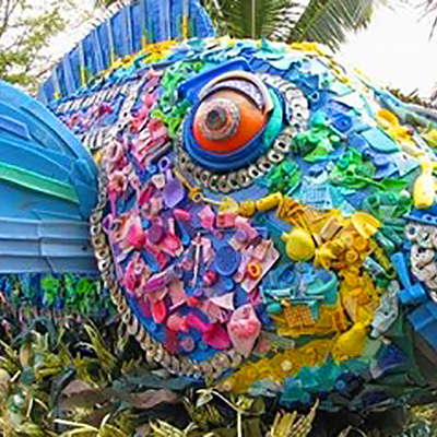 Weiteres Kunstwerk eines Fisches
