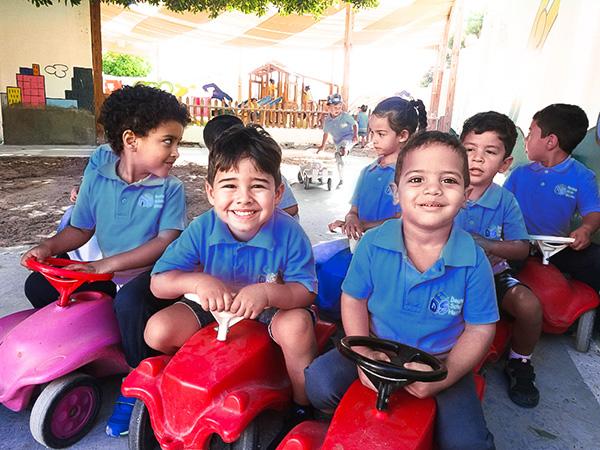 Schüler der Deutsche Schule Hurghada
