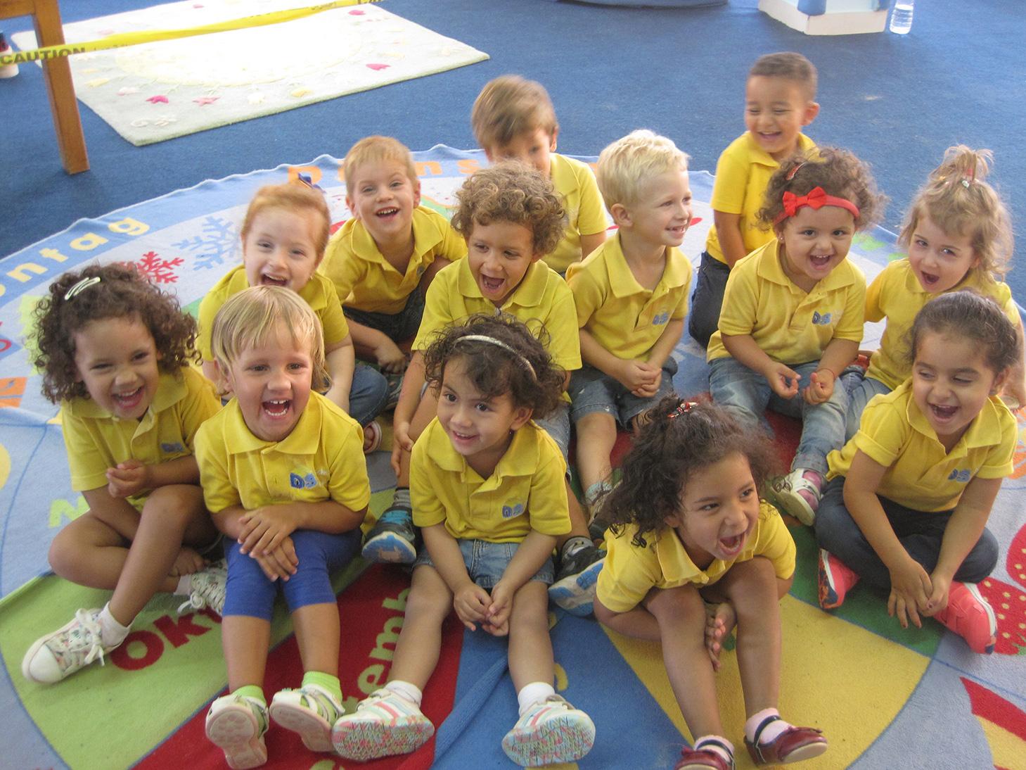 Kinder der Deutschen Schule Hurghada